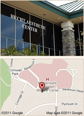 Location Map - Life Aesthetic Center - Bellingham, WA