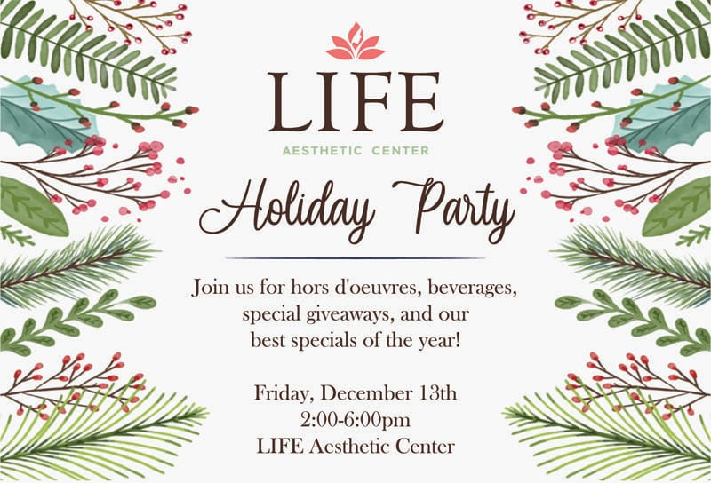 Holiday Party Invite Front